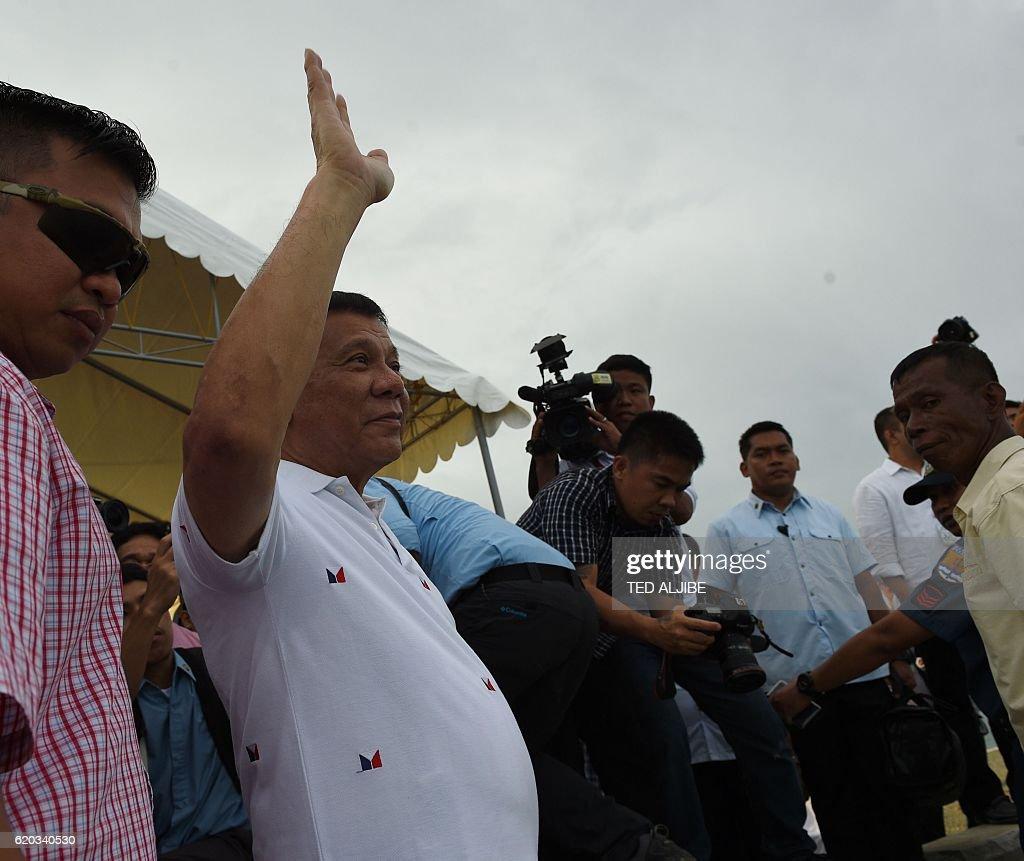 PHILIPPINES-VIETNAM-DUTERTE-DIPLOMACY : News Photo