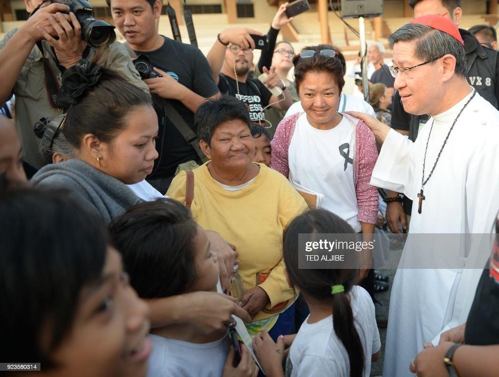 Philippines-PHILIPPINES-CATHOLIC-RIGHTS-religion-politics : News Photo