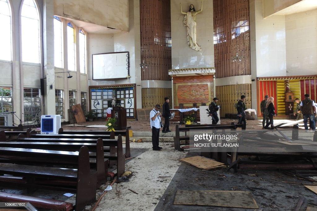 PHILIPPINES-UNREST-BOMB : News Photo