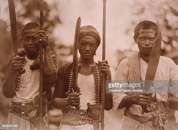 Philippine Tribesmen who Fought Americans after the SpanishAmerican War circa 1900
