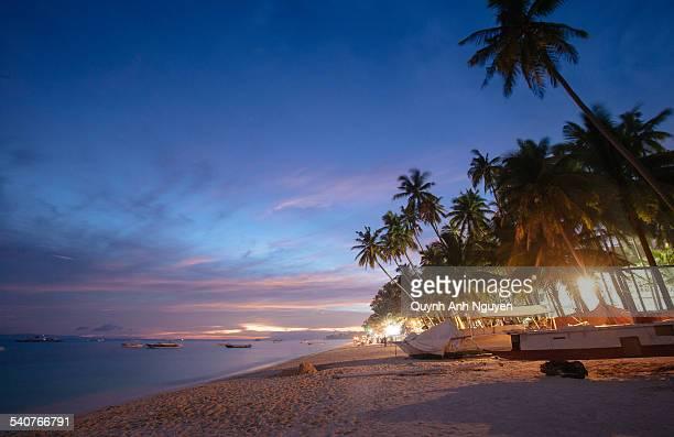 Philippines - Alona Beach near Bohol island
