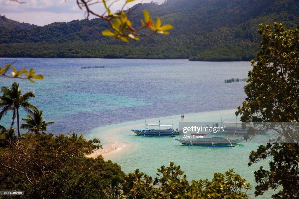 Philippines, Bacuit archipelago, El Nido : Stock Photo