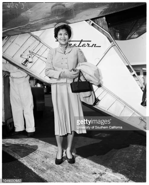 Philippines 'Miss United Nations' 6 May 1952 Miss Amparo Farrales 23 yearsSofronio Abrera