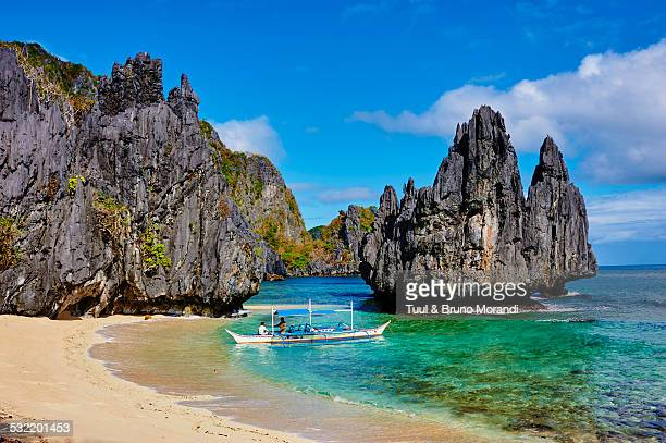philippines, palawan, el nido - el nido stock pictures, royalty-free photos & images