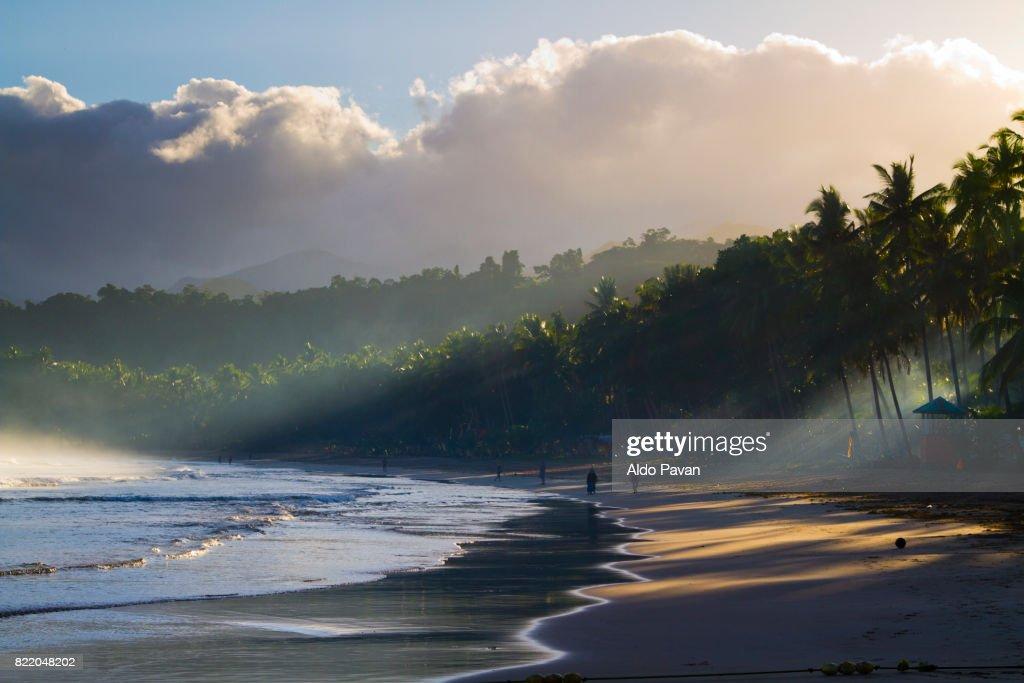 Philippines, Palawan island, Sabang : Stock Photo