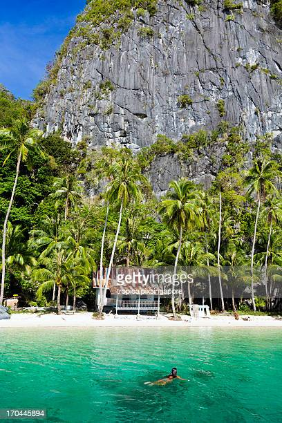 philippines, palawan province, el nido. - palawan stock pictures, royalty-free photos & images