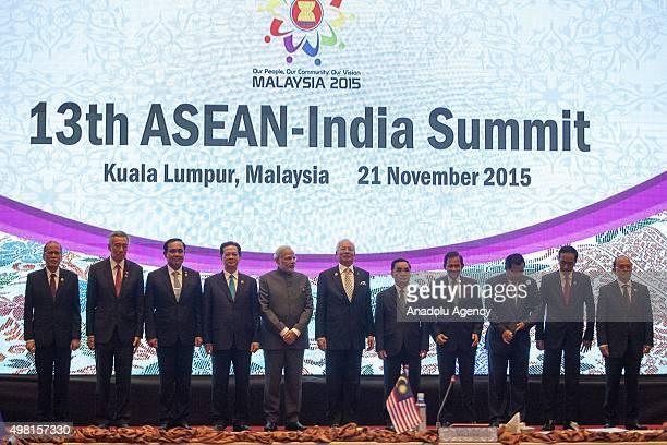 Philippine's President Benigno Aquino Singapore's Prime Minister Lee Hsien Loong Thailand's Prime Minister Prayut ChanOCha Vietnam's Prime Minister...