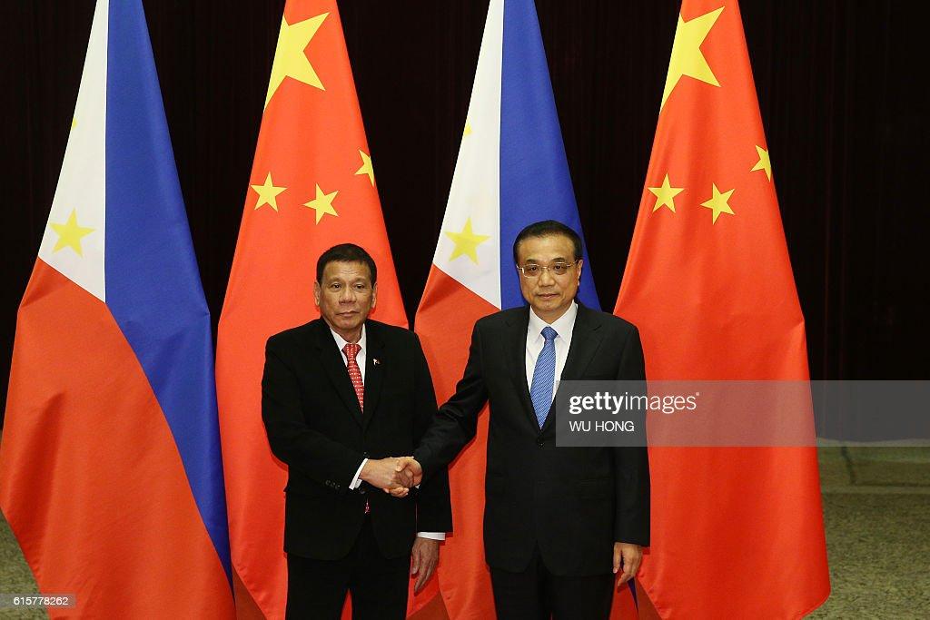 CHINA-PHILIPPINES-DIPLOMACY : News Photo