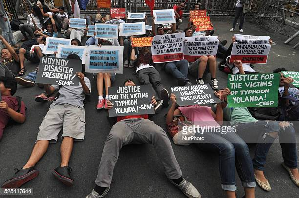MANILA Philippines The League of Filipino Students a militant student organization joined other youth organizations and a few victims of supertyphoon...