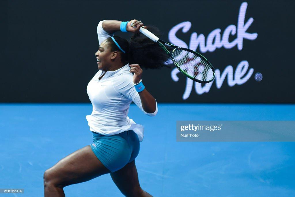 Manila Philippines Usa S Serena Williams Of The Philippine