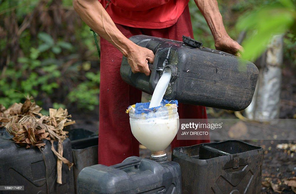 PHILIPPINES-LIFESTYLE-DRINK-WINE : News Photo