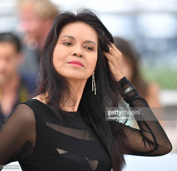 Philippino actress Maria Isabel Lopez poses during the photocall for the film 'Ma'Rosa' at the 69th annual Cannes Film Festival in Cannes on May 18...
