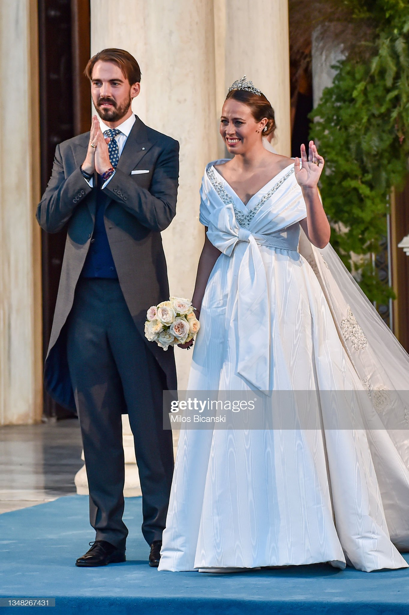 Philippos Of Greece Wedding In Athens : News Photo