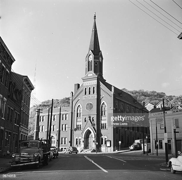 Philippus Kirche was built in 1890 It is one of the older German protestant churches in Cincinnati
