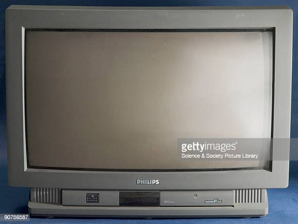 Philips widescreen colour television set