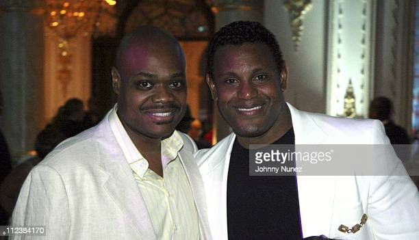 Phill Robinson and Sammy Sosa during Russell Simmons' 2nd Annual Art for Life Benefit at Mar a Lago - Day 2 at Mar a Lago in Palm Beach, Florida,...