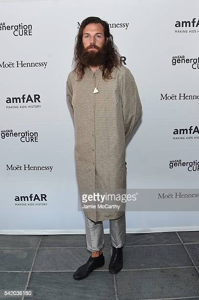 Phill Sullivan attends the amfAR generationCure Solstice 2016 on June 21 2016 in New York City