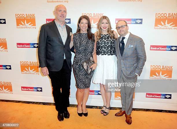 Phillip Baltz, Christina Grdovic, Jodisue Rosen Feldman, Scott R. Feldman attend the Food Bank For New York City's 2015 Can Do Awards Dinner Gala at...