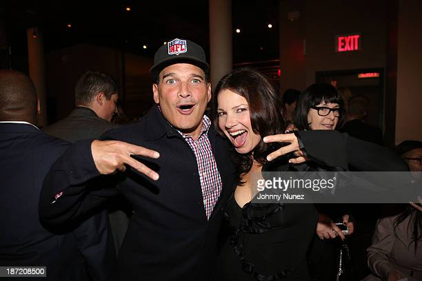 Phillip Bloch and Fran Drescher attend as Fran Drescher and DuJour Magazine present Cancer Shmancer Movement at SEN NYC on November 6 2013 in New...