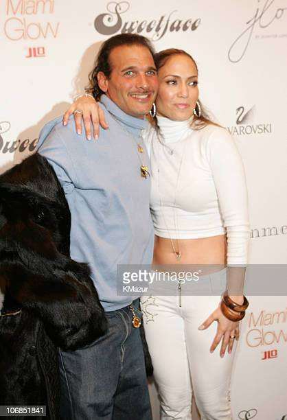 Phillip Bloch and Jennifer Lopez during Olympus Fashion Week Fall 2005 Sweetface by Jennifer Lopez and Andy Hilfiger Backstage Arrivals at The Tent...
