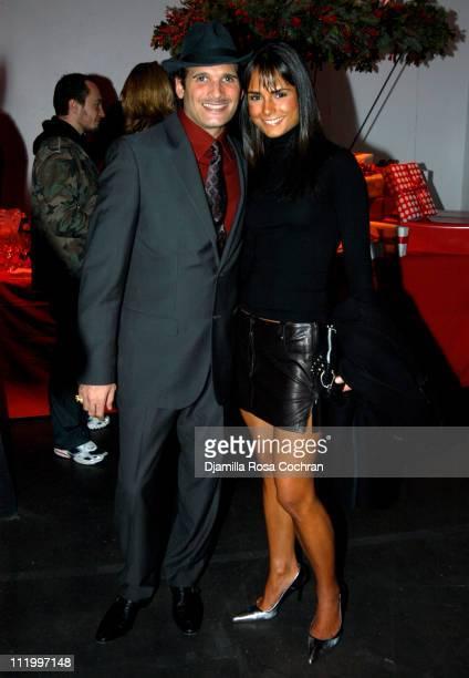 Phillip Bloch and Jordana Brewster during Vogue and eBay Host a Holiday Party to Benefit FilmAid International at Diane Von Furstenberg Studios in...