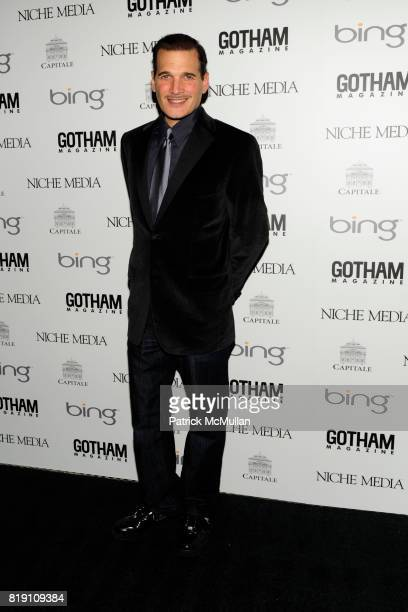 Phillip Bloch attends ALICIA KEYS Hosts GOTHAM MAGAZINES Annual Gala Presented by BING at Capitale on March 15 2010 in New York City