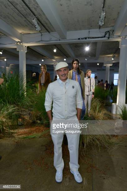 Phillip Bloch attends the Hanley Mellon Spring 2015 Collection at Hudson Mercantile on September 10 2014 in New York City