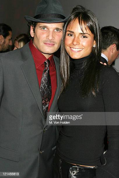 Phillip Bloch Jordana Brewster during Vogue Ebay Holiday party at New York City in New York New York United States
