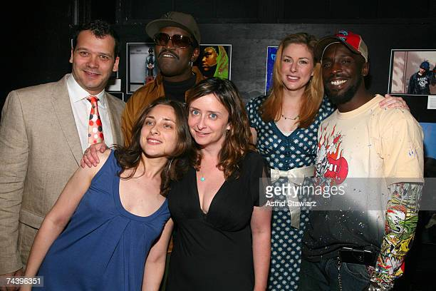 Phillip Courtney Anna Strout Fab 5 Freddy Rachel Dratch Diane Neal and Michael Kenneth Williams take part in the Working Playground's 2007 Urban Arts...