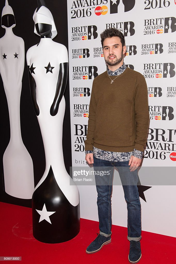 ONLY] Phillip George attends the nominations launch for The Brit Awards 2016 at ITV Studios on January 14, 2016 in London, England.