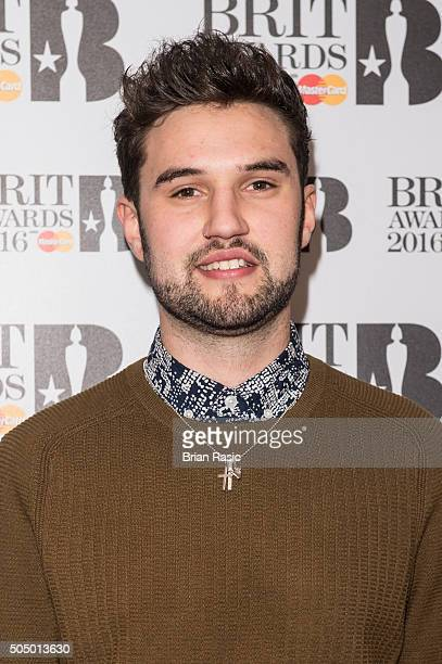 ONLY] Phillip George attends the nominations launch for The Brit Awards 2016 at ITV Studios on January 14 2016 in London England