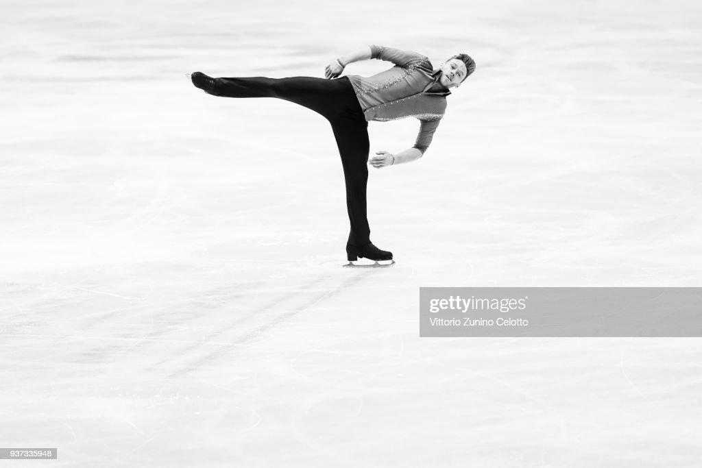 World Figure Skating Championships in Milano - Alternative Views Black & White
