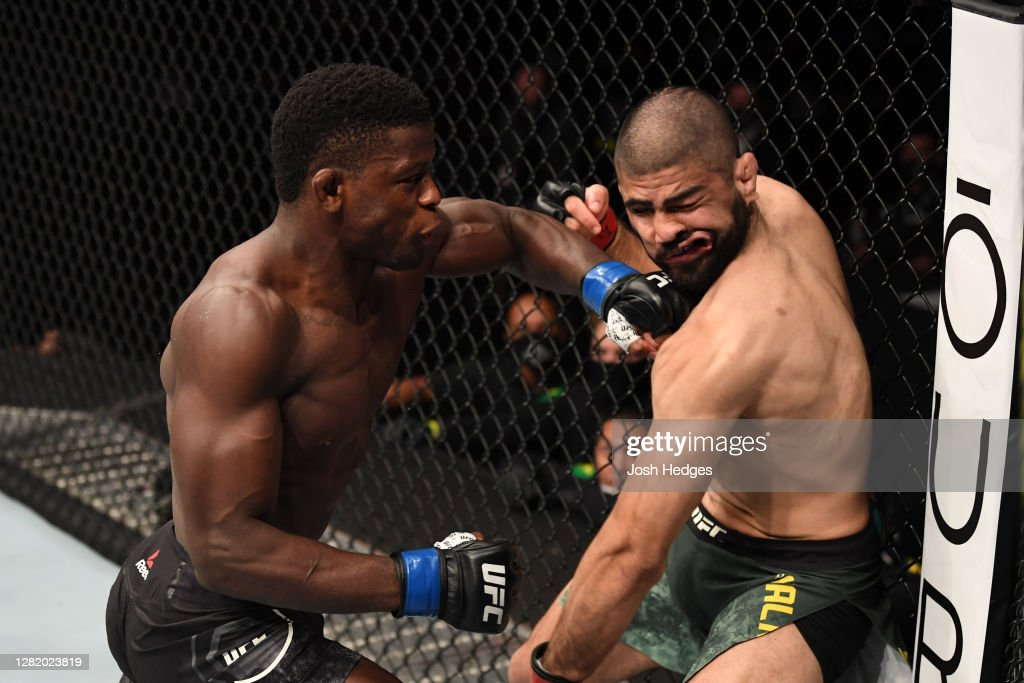 UFC 254: Malkoun v Hawes : ニュース写真
