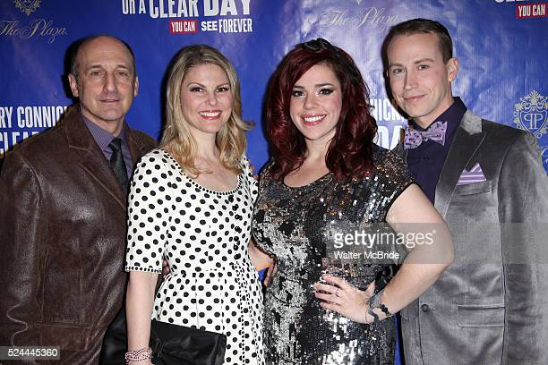 Phillip Hoffman Heather Ayer Alysha Umphress Tyler Maynard attending the Opening After Party for 'On A Clear Day You Can See Forever' at the Plaza...