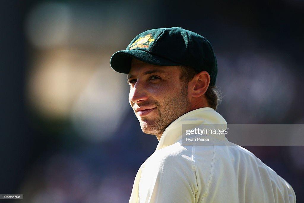 Second Test - Australia v Pakistan: Day 2 : News Photo