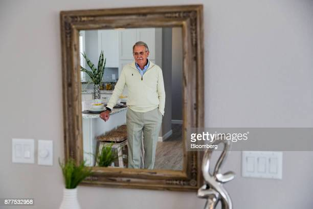 Phillip Lee founder of LeeCorp Homes Inc stands in the kitchen of a model mobile home at the company's dealership in Estero Florida US on Tuesday Oct...