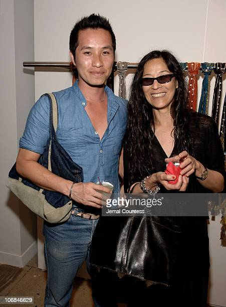 Phillip Lim and Stella Ishi during Designer Chan Luu hosts NY Showroom Launch Party to celebrate the opening of her 4,300 square-foot New York...