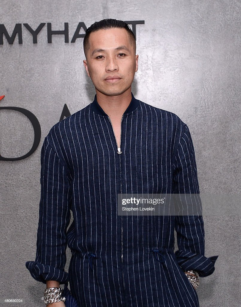 Phillip Lim attends New York Men's Fashion Week kick off party hosted by Amazon Fashion and CFDA at Amazon Imaging Studio on July 13, 2015 in Brooklyn, New York.