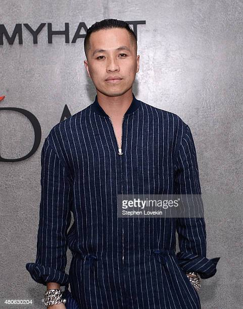 Phillip Lim attends New York Men's Fashion Week kick off party hosted by Amazon Fashion and CFDA at Amazon Imaging Studio on July 13, 2015 in...