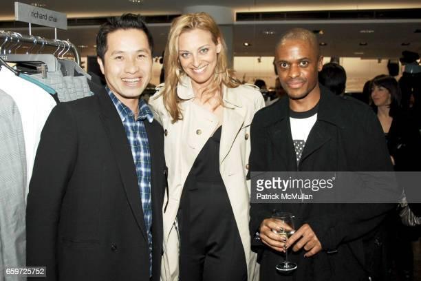 Phillip Lim Jessica Diehl and Drew Dasent attend BARNEYS NEW YORK Celebrates RICHARD CHAI BEN JONES TShirt collaboration to benefit The ELIZABETH...