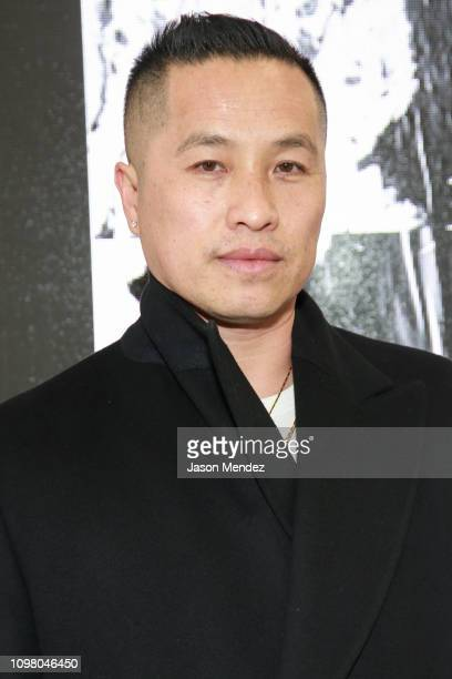 Phillip Lim on February 11 2019 in New York City