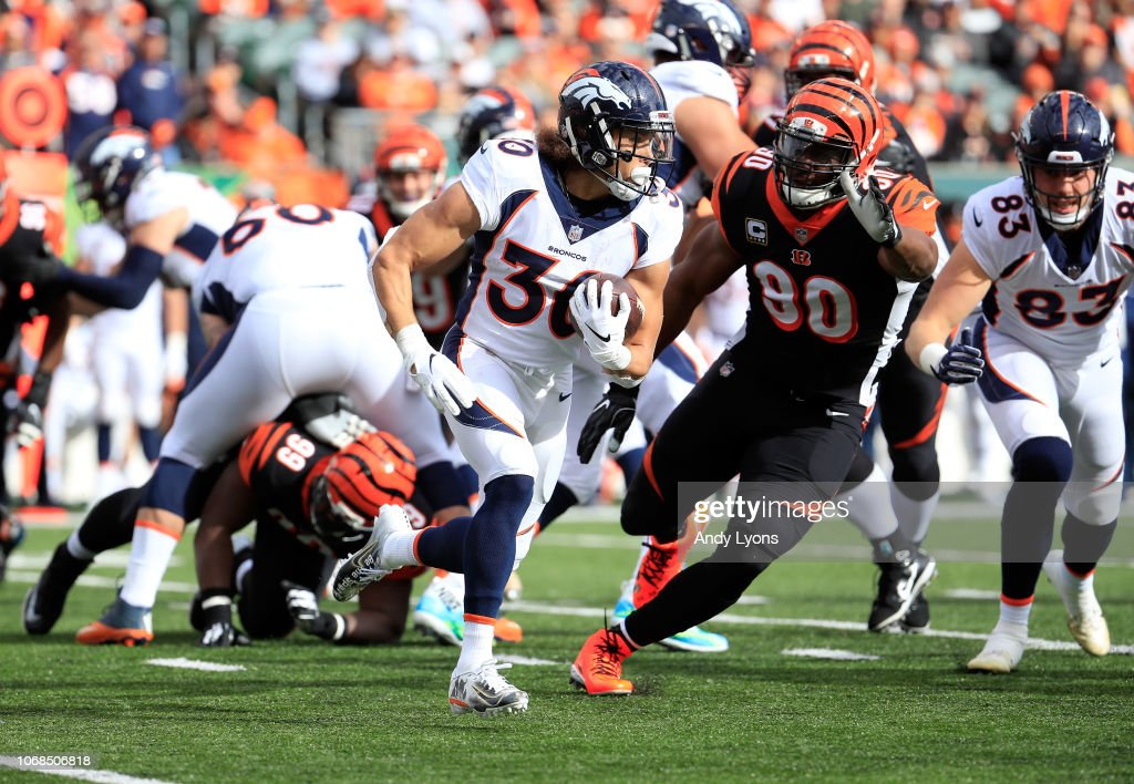 Denver Broncos v Cincinnati Bengals : News Photo