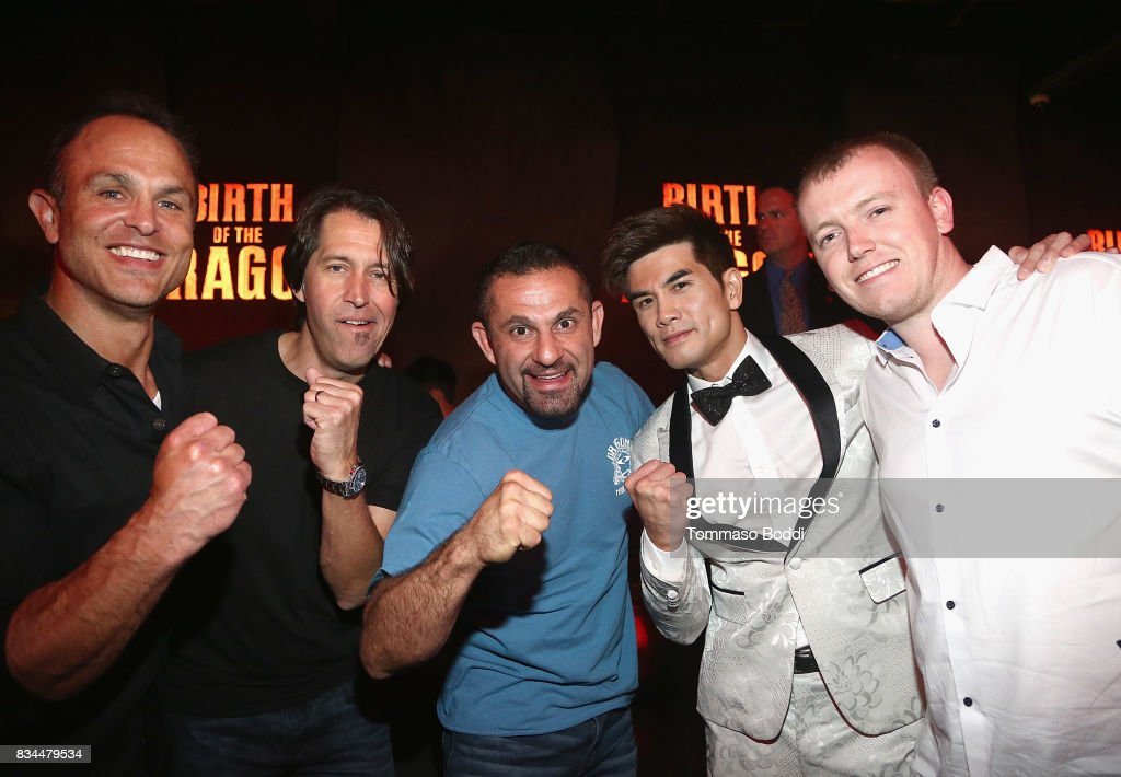 Phillip Ng and guests attend the special screening WWE Studios' 'Birth Of The Dragon' After Party on August 17, 2017 in Hollywood, California.
