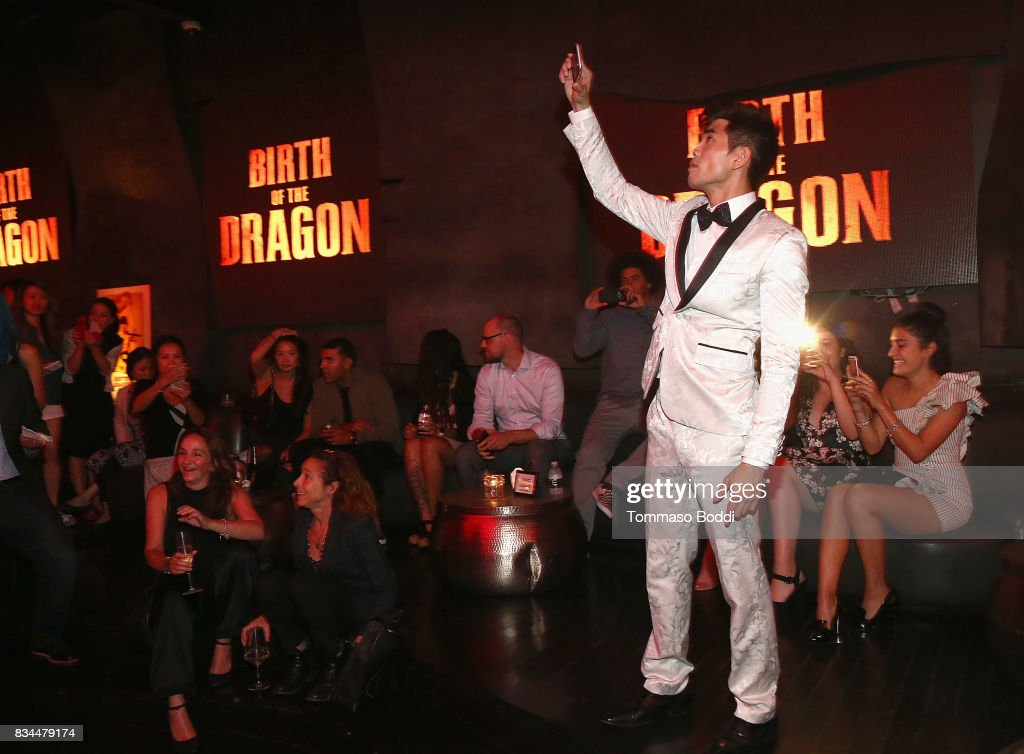 Phillip Ng attends the special screening WWE Studios' 'Birth Of The Dragon' After Party on August 17, 2017 in Hollywood, California.