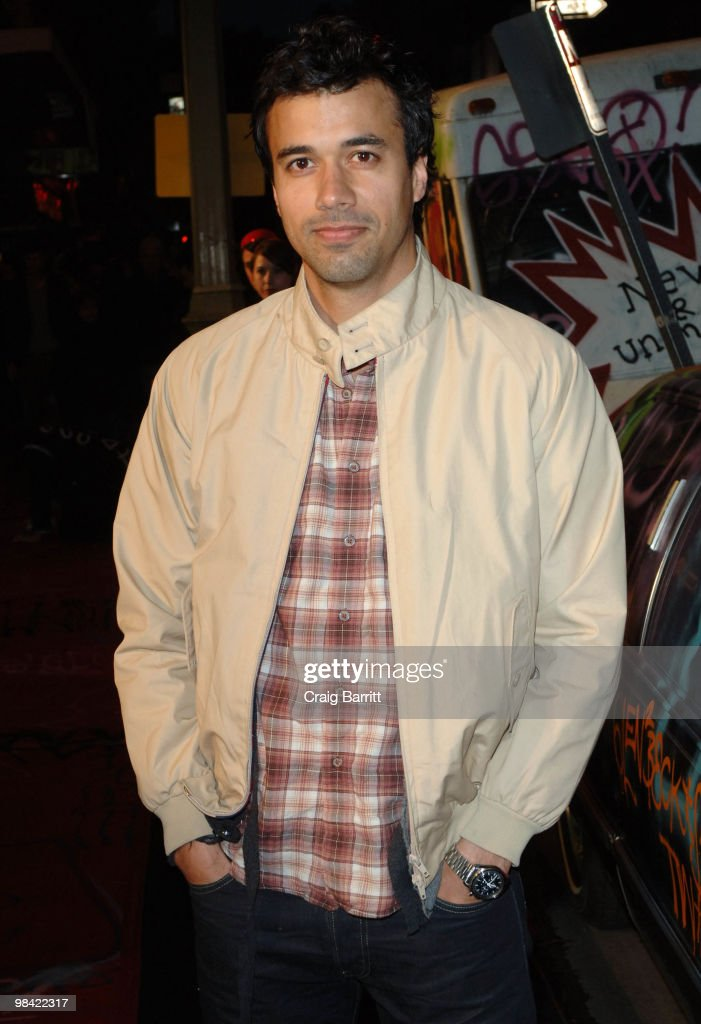 Phillip Rhys arrives at Banksy's 'Exit Through The Gift Shop' Los Angeles Premiere on April 12, 2010 in Los Angeles, California.