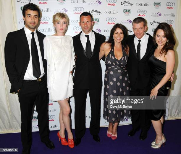 Phillip Rhys Robyn Addison Ryan Giggs Julie Graham Max Beesley and Zoe Tapper attend the 5 Stars Scanner Appeal on June 1 2009 in Sutton Coldfield...