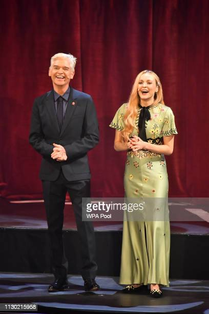 Phillip Schofield and Fearne Cotton at the annual Prince's Trust Awards at the London Palladium on March 13 2019 in London England