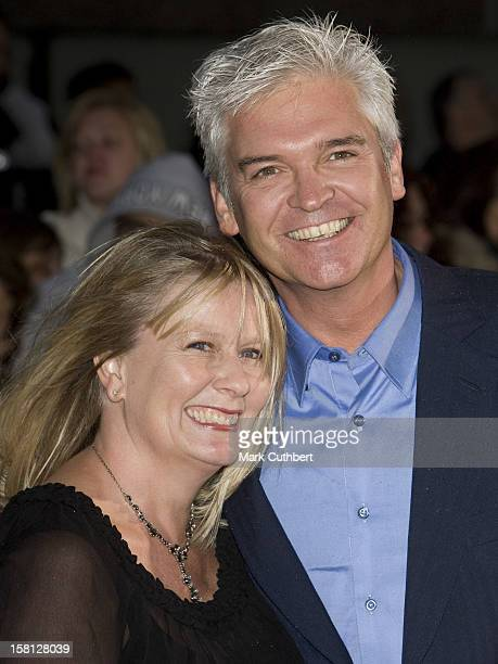 Phillip Schofield And Stephanie Lowe Arriving At The Pride Of Britain Awards 2008 London Television Centre South Bank London