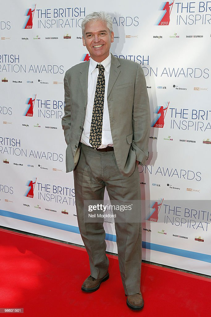 Phillip Schofield arrives for The British Inspiration Awards on April 23, 2010 in London, England.