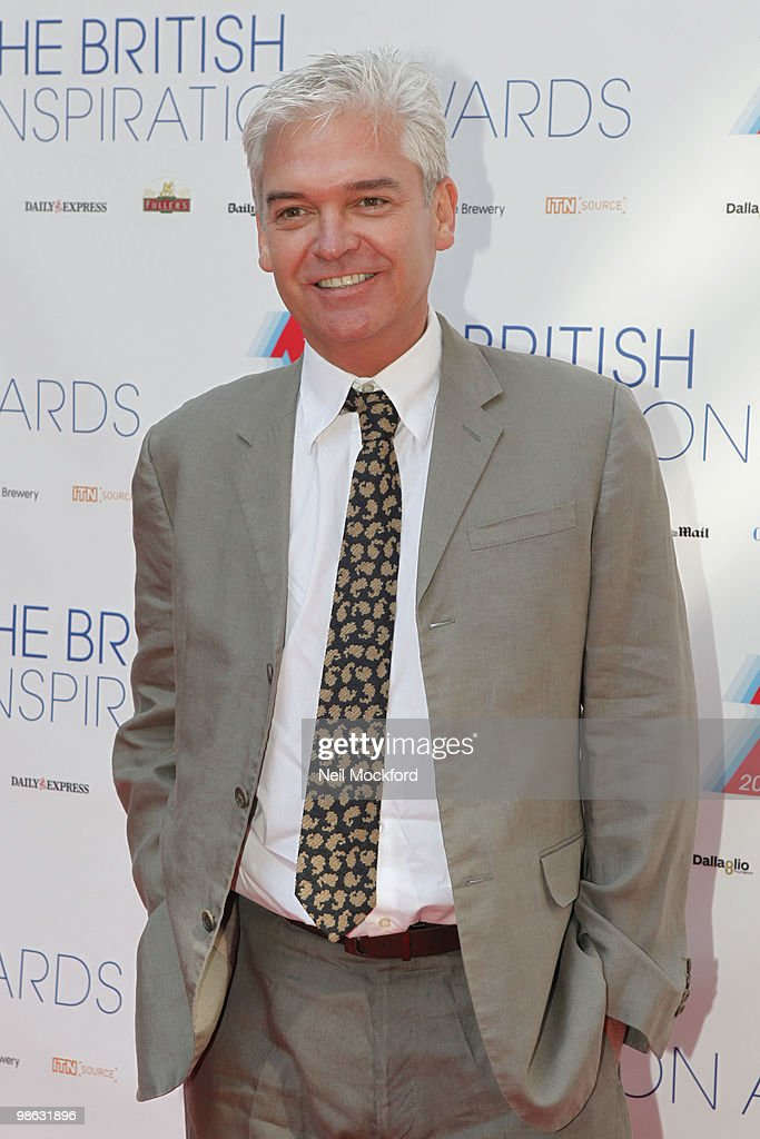 Phillip Schofield arrives for The Inspiration Awards on April 23, 2010 in London, England.